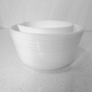 Pyrex Hamilton Beach Edition  - 2 Mixing Bowls